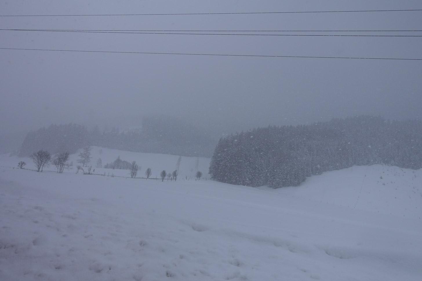 Sneeuwval kan het lastig maken om te wintersporten